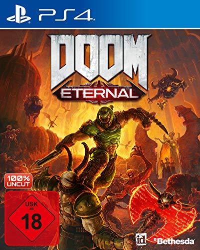 DOOM Eternal inkl. Metal Plate [Playstation 4] | kostenloses Upgrade auf PS5 [Exklusiv bei Amazon]