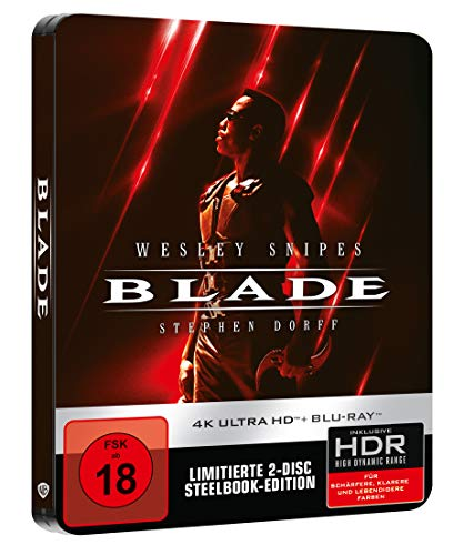 Blade - Steelbook (4K Ultra HD) (+ Blu-ray 2D)