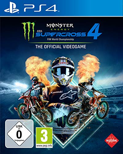 Monster Energy Supercross - The Official Videogame 4 (Playstation 4)