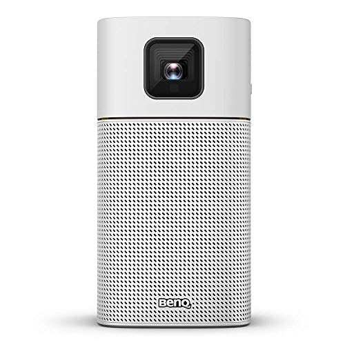 BenQ Mini LED Beamer GV1 mit Bluetooth-Lautsprecher, WLAN, HDMI auf USB-C-Verbindung