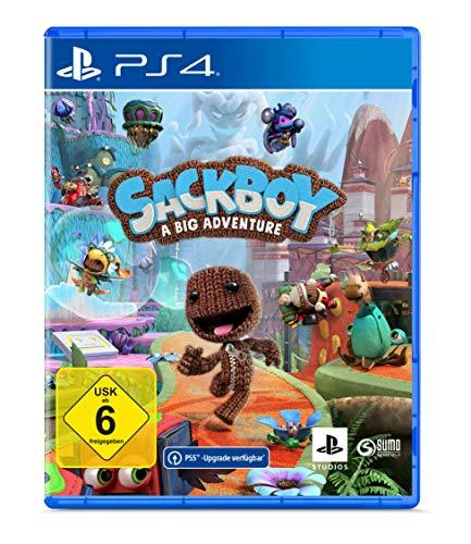 Sackboy: A Big Adventure - [PlayStation 4 inkl. kostenlosem Upgrade auf PS5]