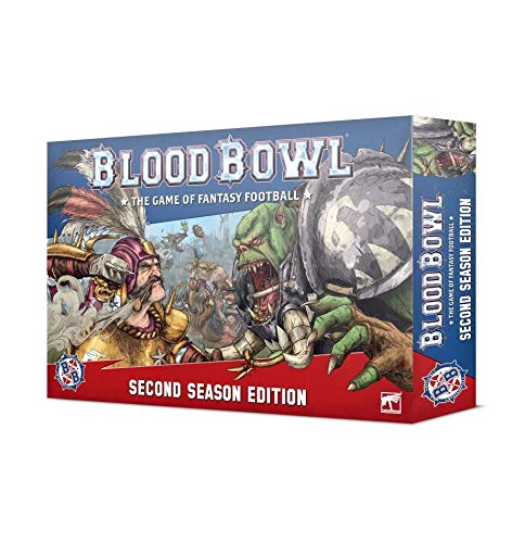Games Workshop Blood Bowl Second Season Edition Warhammer Fantasy-Fußball