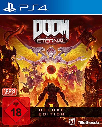 DOOM Eternal - Deluxe Edition [PlayStation 4]   kostenloses Upgrade auf PS5