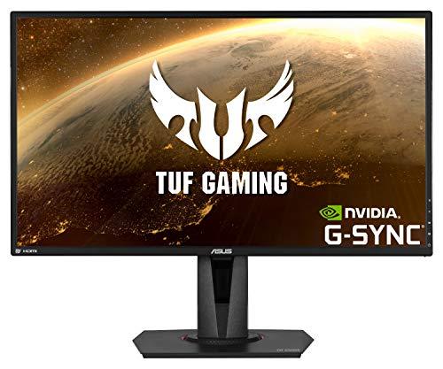 ASUS TUF Gaming VG27AQ 68,58 cm (27 Zoll) Monitor (WQHD, FreeSync, G-Sync Compatible, HDMI, DisplayPort, 1ms Reaktionszeit, 165Hz, HDR10) schwarz