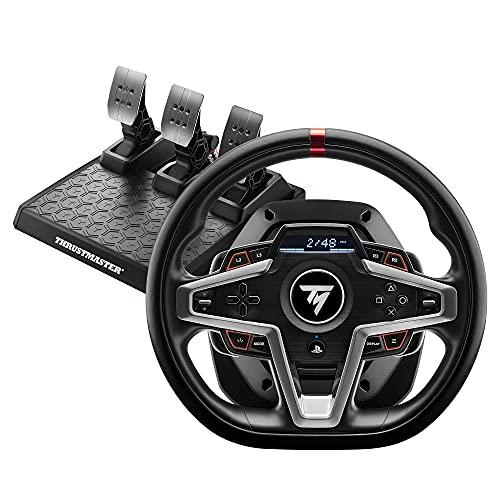 Thrustmaster T248 Rennlenkrad und Magnetische Pedale, PS5, PS4, PC, HYBRID DRIVE