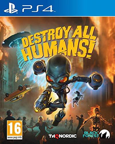Destroy All Humans! [Playstation 4] [PEGI-AT]