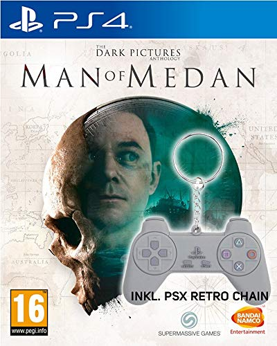 The Dark Pictures Anthology: Man of Medan [Bonus uncut Edition] + PSX Keychain
