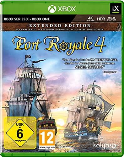 Port Royale 4 - Extended Edition (Xbox One Series X)