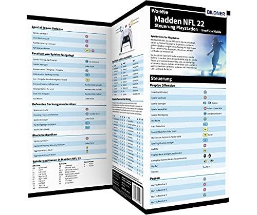 MADDEN NFL 22 - Steuerung Playstation - Unofficial Guide: Die komplette Spielsteuerung groß auf einen Blick! Für Playstation