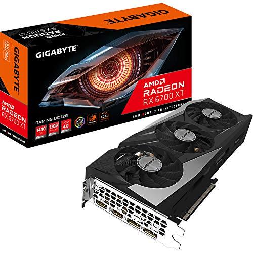 Gigabyte Radeon RX 6700 XT Gaming OC Grafikkarte (12 GB)