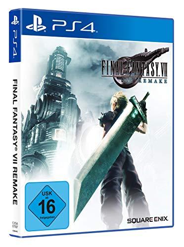 Final Fantasy VII HD Remake inkl. Dynamic Theme 'Sephiroth' (exklusiv  bei Amazon.de) [Playstation 4]