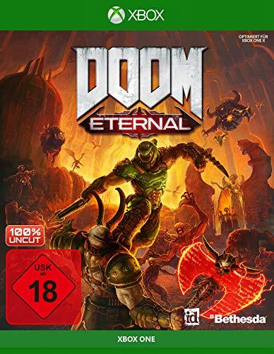 DOOM Eternal inkl. Metal Plate [Xbox One] | kostenloses Upgrade auf Xbox Series [Exklusiv bei Amazon]