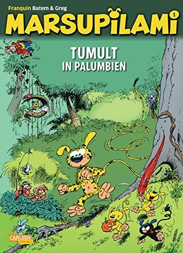 Marsupilami 1: Tumult in Palumbien: Abenteuercomics für Kinder ab 8 (1)