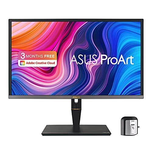 ASUS ProArt PA27UCX-K 68,47cm (27 Zoll) Professional Monitor (4K HDR, Mini-LED-Hintergrundbeleuchtung, Quantum-Dot-Technologie, HDMI, DisplayPort, USB-C, 5ms Reaktionszeit) schwarz