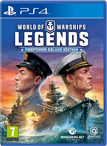 PS4 World of Warships: Legends PEGI Deutsch