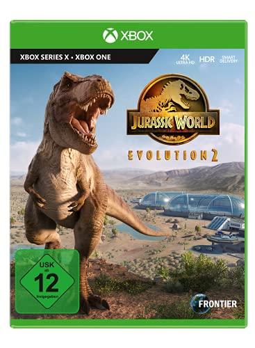 Jurassic World Evolution 2 inkl. Dino Plüschfigur (exklusiv bei Amazon.de) - [Xbox Series X]