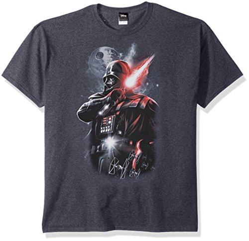 Star Wars Herren Men's Dark Lord Darth Vader Graphic Shirt Hemd
