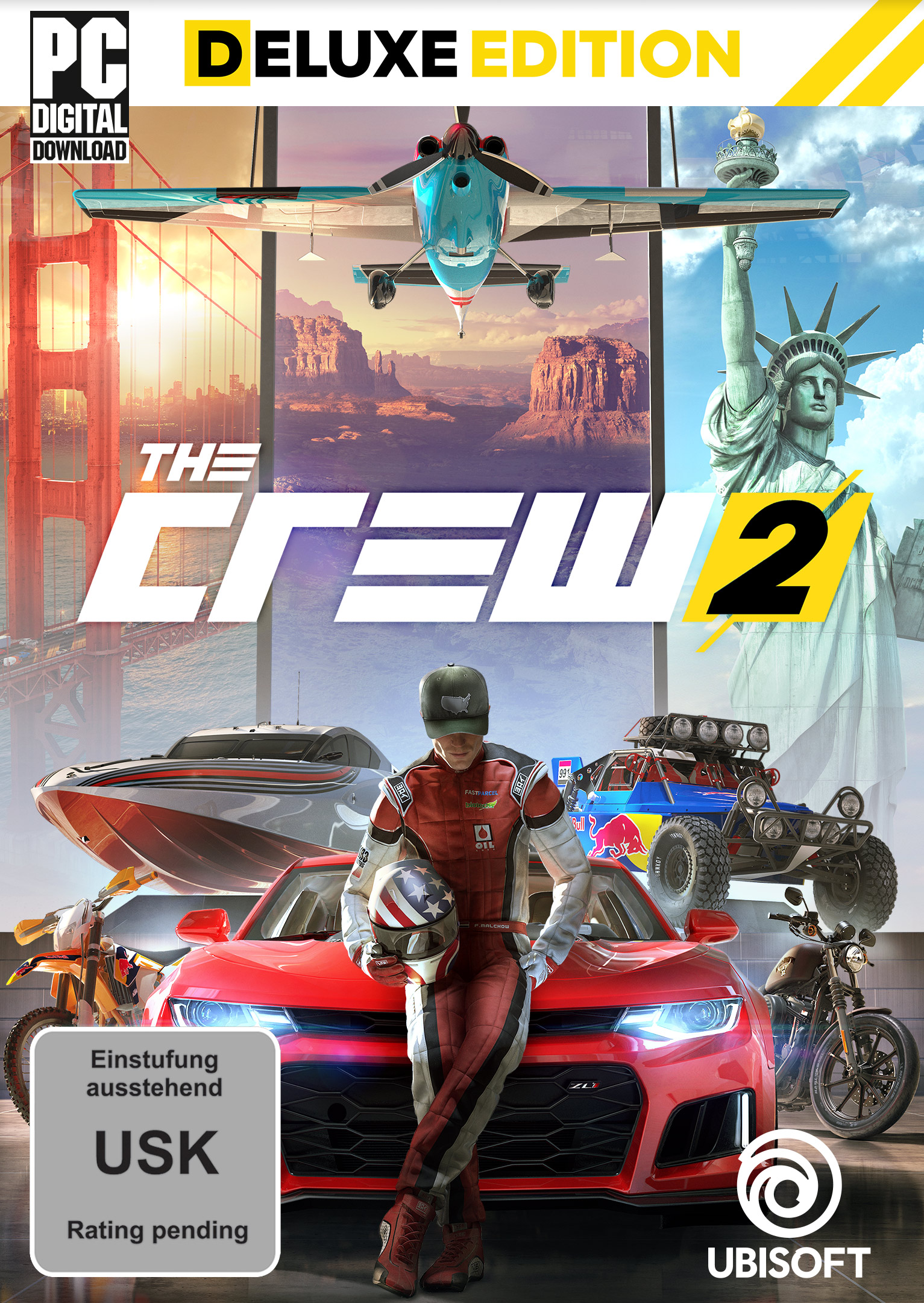 The Crew 2 - Deluxe Edition [PC Code - Ubisoft Connect]