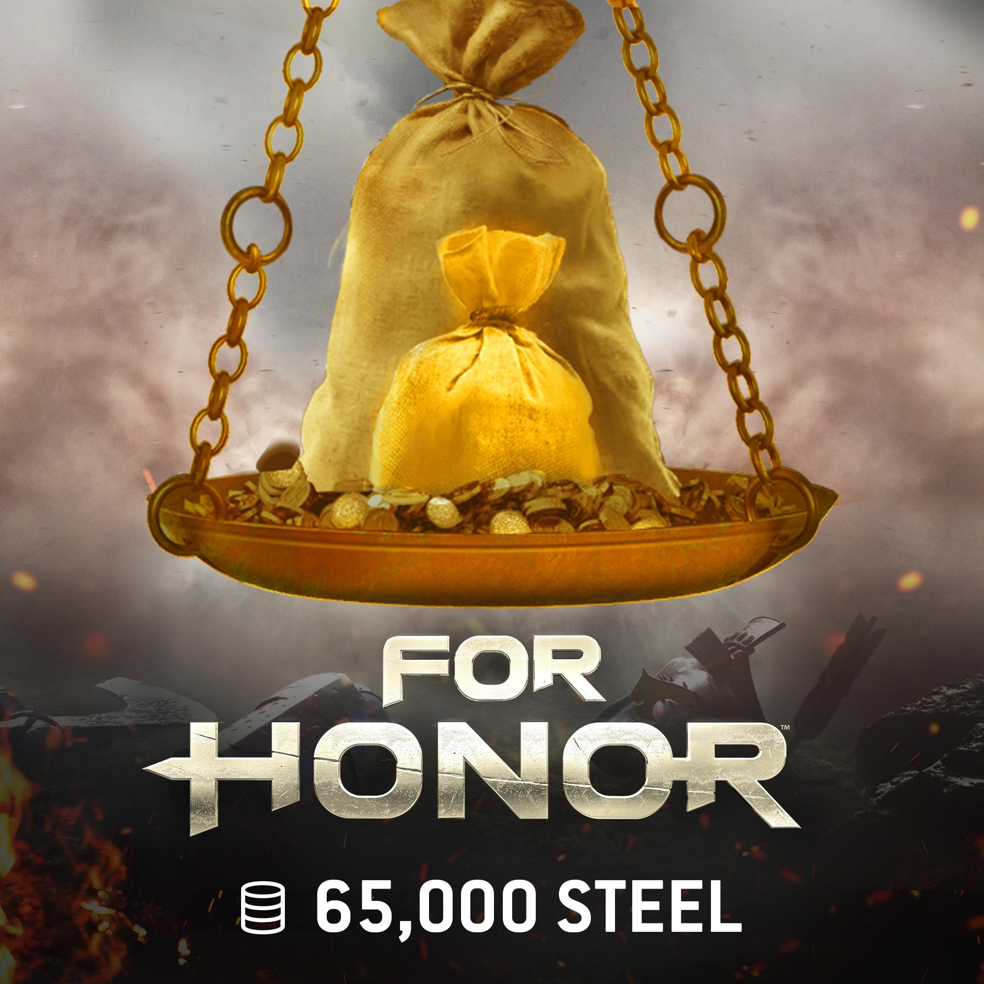 For Honor - 65.000 Einheiten Stahl [PC Code - Ubisoft Connect]
